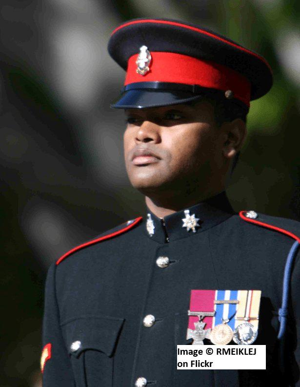 Sergeant Johnson Beharry VC
