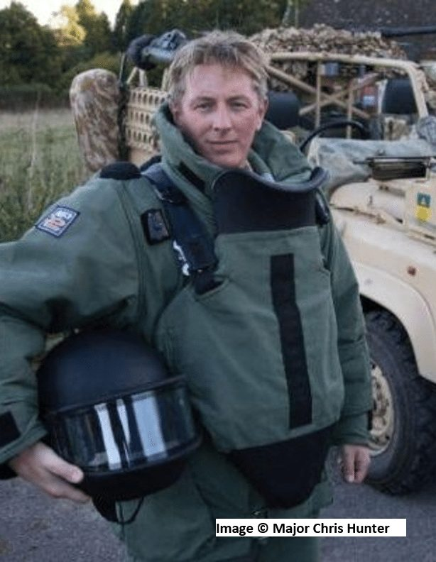 Major Chris Hunter