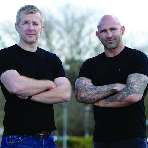 Dan Cross and Efrem Brynin