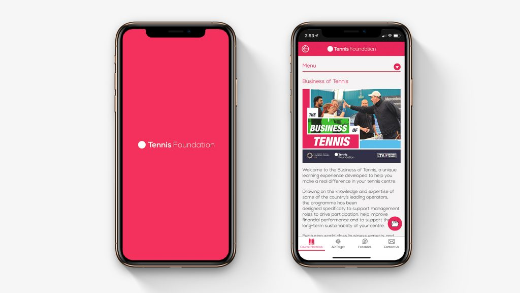 Tennis Foundation App