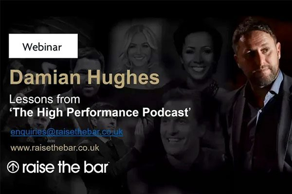 Lesson from The High Performance Podcast led by Professor Damian Hughes thumbnail